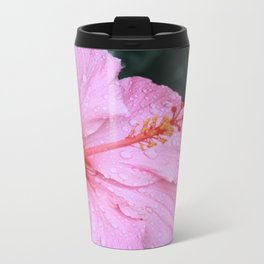Pretty in Pink Metal Travel Mug