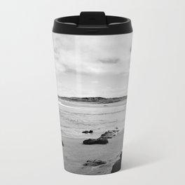 Beach - New Zealand South Coast Metal Travel Mug