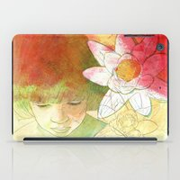 child iPad Cases featuring child by Sabine Israel