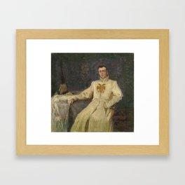 LEBEDEV, KLAVDY (1852-1916) Dmitry the Impostor I Framed Art Print