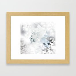 ▲•cold punk flower•▲ Framed Art Print