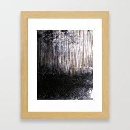Cave Drawing VI Framed Art Print