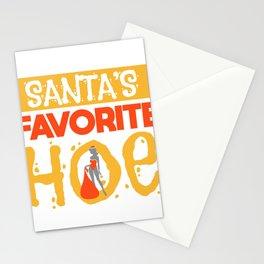 Sexy Christmas Santa Claus Slut Gift Stationery Cards