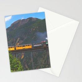 Georgetown Loop Railroad above Georgetown, Colorado Stationery Cards