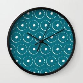 Navajo Symbols: Circles Wall Clock