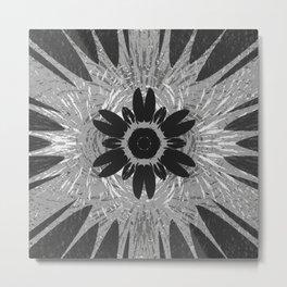Magnet Flower fields Metal Print