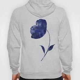 Blue & White Flower - 3 Hoody