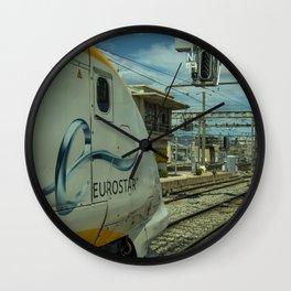Eurostar at Marseille Wall Clock