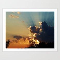 Glory in the Sky Art Print