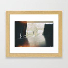 On the Way Framed Art Print