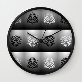 Abstract background Wall Clock