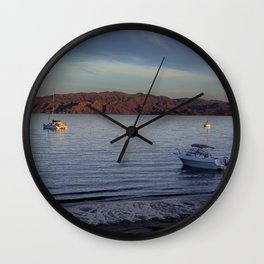 Here comes the dark Wall Clock