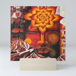 Himalayan Buddha Mini Art Print
