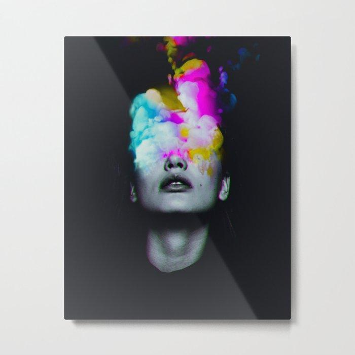 Lucide Metal Print