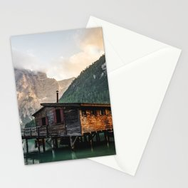 Lago di Braies Stationery Cards
