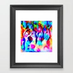 Rainbow Sisterhood Framed Art Print