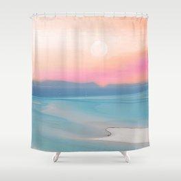 Dream of Whitehaven beach Shower Curtain