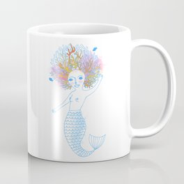 Coral the Mermaid Coffee Mug