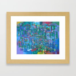 Every Part of You is Just Another Part of Me Framed Art Print