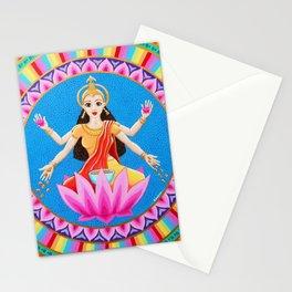 Goddess Lakshmi Mandala Stationery Cards