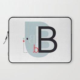 B b Laptop Sleeve