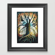 Glory Oak Framed Art Print