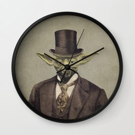 Sir Yodington  Wall Clock