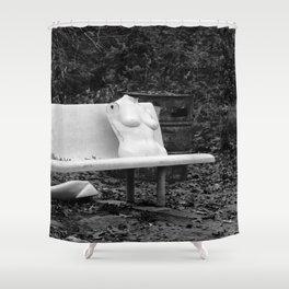 Mannequin Shower Curtain