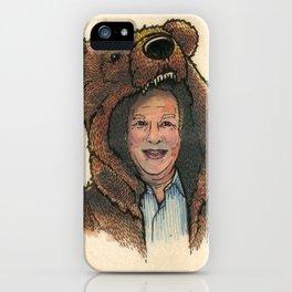 Bear Suit Marc iPhone Case