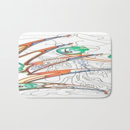 Embryonic Fly Trap Bath Mat