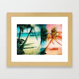 Barbados Hangover in 3D Framed Art Print