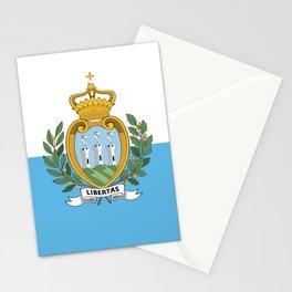 San Marino Flag Stationery Cards