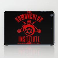 fullmetal iPad Cases featuring The Sins of the Father by adho1982