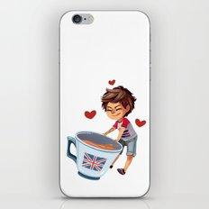Louis & Tea iPhone & iPod Skin
