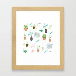 Botanica Pattern Framed Art Print