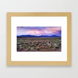 Desert Sky Framed Art Print