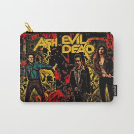 Ash Faces Many Evils Carry-All Pouch