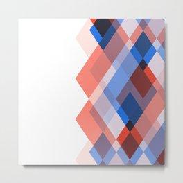 Lou Kirsten Diamond Series - Sapphire Metal Print