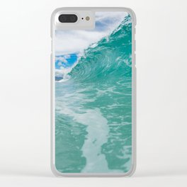 Giant Wall of Water Clear iPhone Case