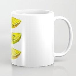 Lemon Slices White Coffee Mug