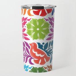 Chiapas Embroidery Travel Mug