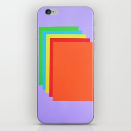 Colorful Paper iPhone Skin