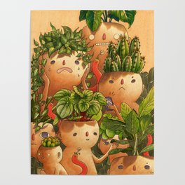 Plant-minded Poster