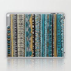 Duck egg and Gold Laptop & iPad Skin