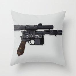 Who Shot First? Throw Pillow