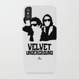 VELVET UNDERGROUND W iPhone Case