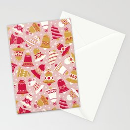 Vintage Christmas Bell Stationery Cards