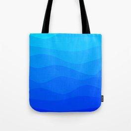 Into The Ocean Tote Bag
