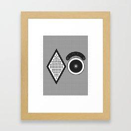 Attenzioni. Venice Series. Citofono 6 Framed Art Print