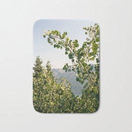 Aspen Leaves Bath Mat